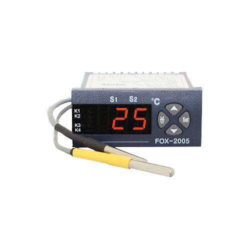 Catalog bộ điều khiển nhiệt độ kho lạnh FOX-2005