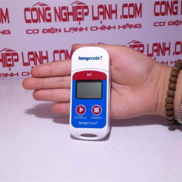 Giới thiệu sản phẩm nhiệt kế tự ghi Tempmate-M1