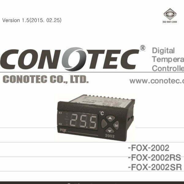 Catalog thiết bị điều khiển nhiệt độ FOX-2002, FOX-2002RS, FOX-2002SR