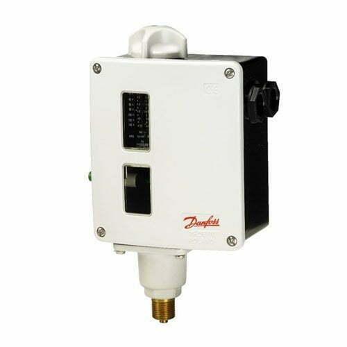 Catalog và hướng dẫn sử dụng dòng sản phẩm rờ le áp suất Danfoss RT